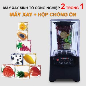 Máy Xay Sinh Tố Chống Ồn ShangHao